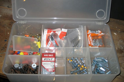... to use a set of four plastic storage bins from Ikea (which I canu0027t seem to locate on their website but Container Store appears to carry similar ones) & Basement Project: Day 4 - Unclutterer