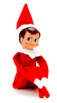 Unitasker wednesday the elf on the shelf unclutterer - Christmas elf on the shelf wallpaper ...