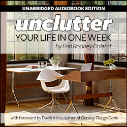 Unclutter Your Life in One Week - Audiobook