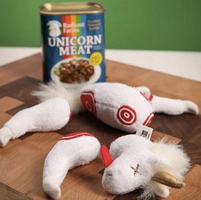 Stuffed Unicorn Carcass