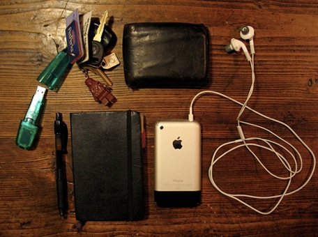 What I carry and how that has changed