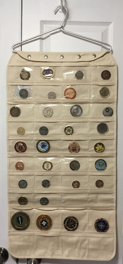 challenge coin collection