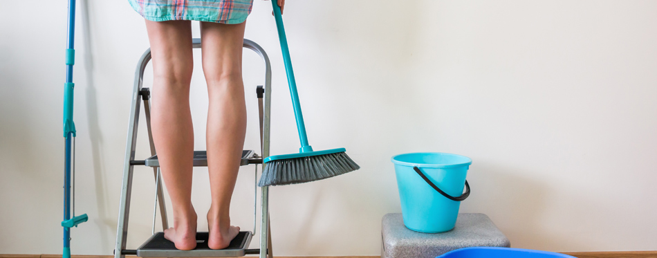 Clever Hacks For Cleaning Hard To Reach Areas