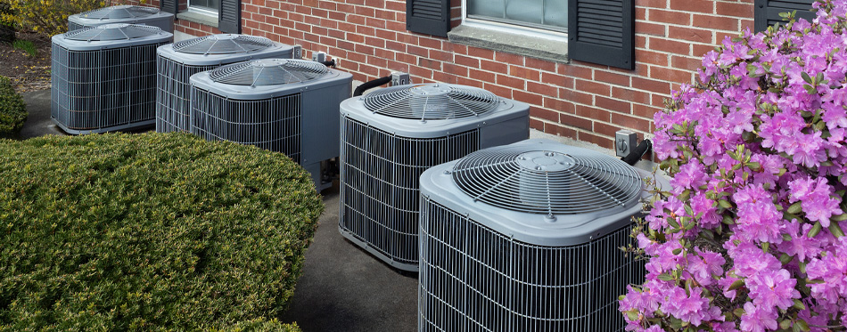 air conditioners landscape