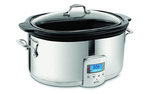 All-Clad-SD700450-Programmable-Oval-Shaped-Slow-Cooker-image
