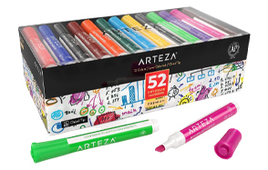 ARTEZA-52-Pack-Chisel-Tip-Dry-Erase-Markers-image