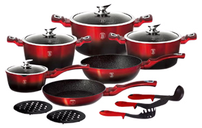 Berlinger-Haus-15-Piece-3-Layer-Marble-Coating-Cookware-Set-image