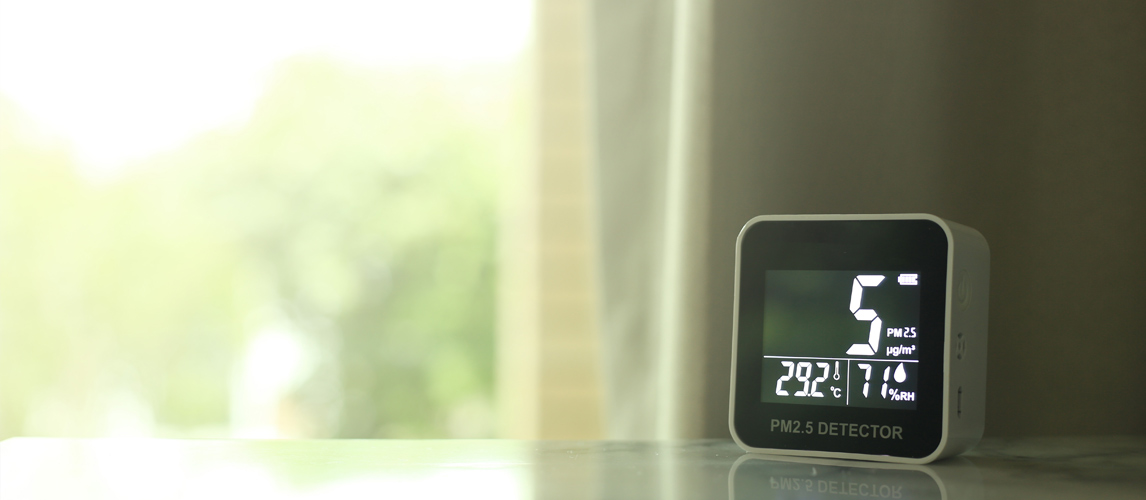 air quality monitor - morning air