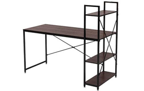 Bestier-Industrial-Shelving-Unit-Computer-Desk-image
