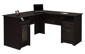 Bush-Furniture-Cabot-L-Shaped-Oak-Computer-Desk-image