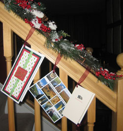 Displaying holiday greeting cards unclutterer recently m4hsunfo