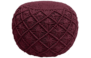 Casa-Platino---Hand-Knitted-Cable-Style-Dori-Pouf-image