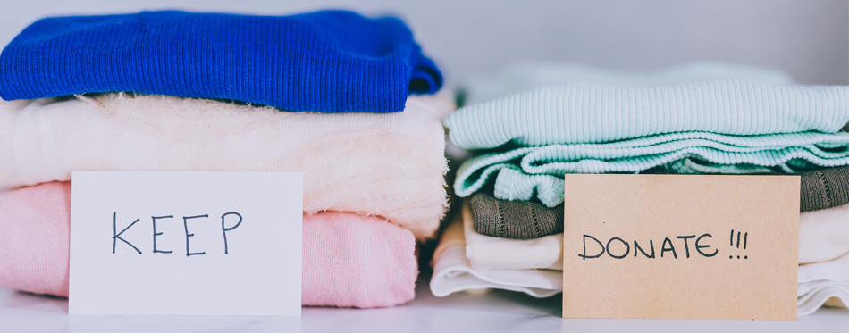decluttering clothes