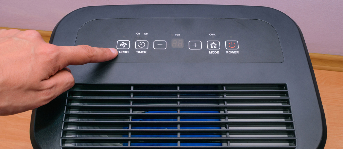 dehumidifier controls
