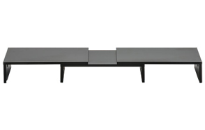FITUEYES-3-Shelf-Adjustable-Length-&-Angle-Monitor-Stand-image