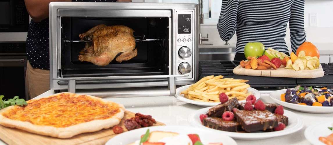 food from toaster oven
