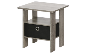 FURINNO-Andrey-End-Table-Nightstand-with-Bin-Drawer-image