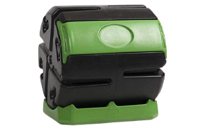 Hot-Frog-Outdoor-37-Gallon-Quick-Rolling-Compost-Tumbler-Bin-image