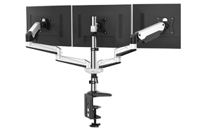 HUANUO-Full-Motion-Gas-Spring-Triple-Monitor-Stand-image