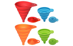 KongNai-Silicone-Collapsible-Funnel-Set-of-4-image