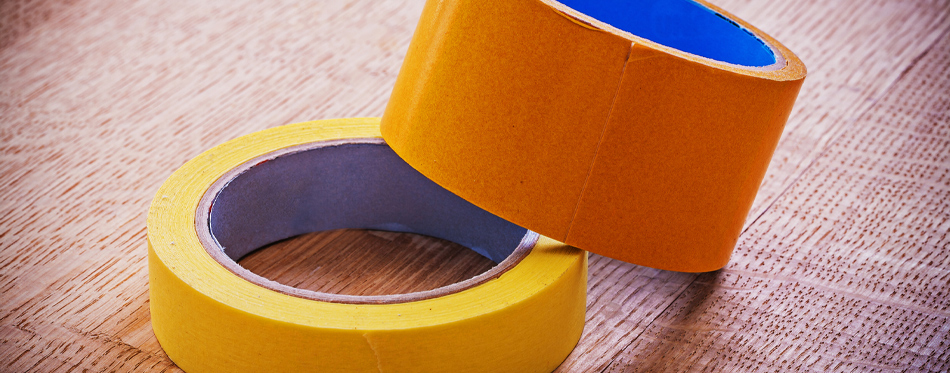 narrow and wide duct tape