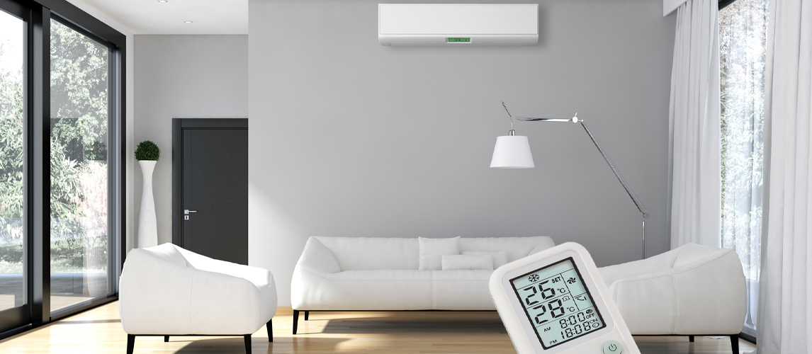 remote control and mini split ac