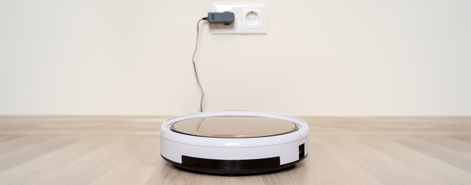 robot vacuum cleaner charging