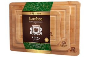 Royal-Craft-Wood-Organic-Bamboo-Cutting-Board-image