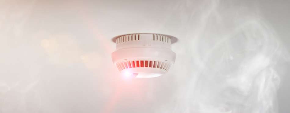smoke detector for poisoning protection