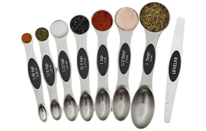 Spring-Chef-Dual-Sided-Magnetic-Measuring-Spoons-image