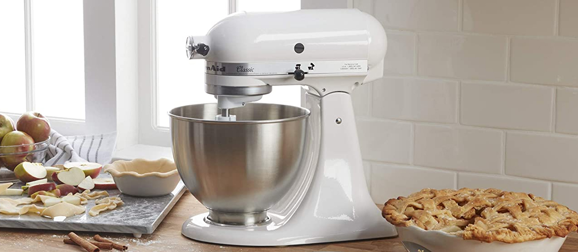 stand mixer on the table