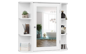 Tangkula-Bathroom-Cabinet-With-Mirror-and-Shelving-image