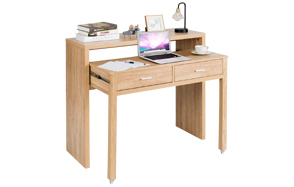 Tangkula-Extendable-Pull-Out-Computer-Desk-image