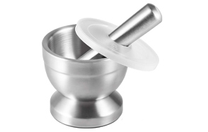 Tera-Stainless-Steel-Mortar-and-Pestle-with-Brush-image