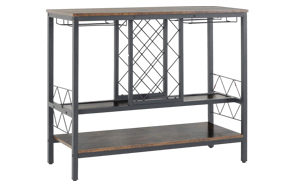 WAYTRIM-Vintage-Wine-Rack-Table-with-Glass-Holder-image